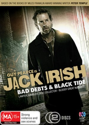 Jack Irish - DVD cover for the first 2 Jack Irish TV movies.