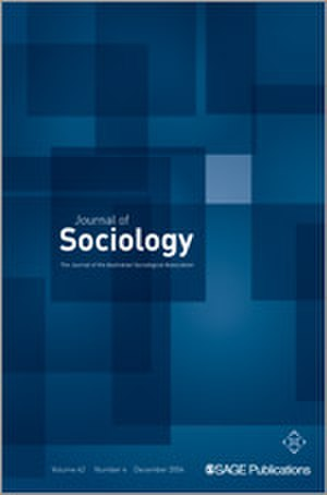 Journal of Sociology - Image: Journal of Sociology
