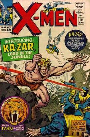 Ka-Zar (comics) - Image: Ka Zar by Jack Kirby