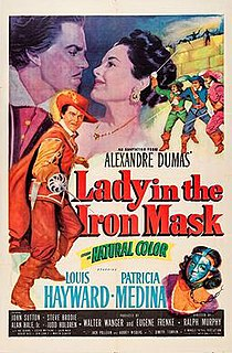 <i>Lady in the Iron Mask</i> 1952 film by Ralph Murphy