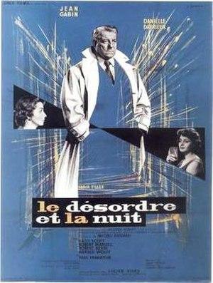 Le désordre et la nuit - French theatrical release poster