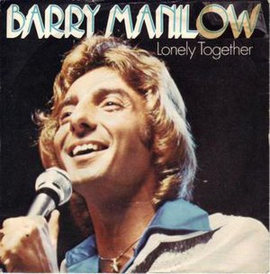 Lonely Together (Barry Manilow song) - Image: Lonely Together Barry Manilow