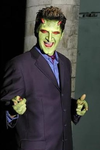 Lorne (Angel) - Andy Hallett as Lorne