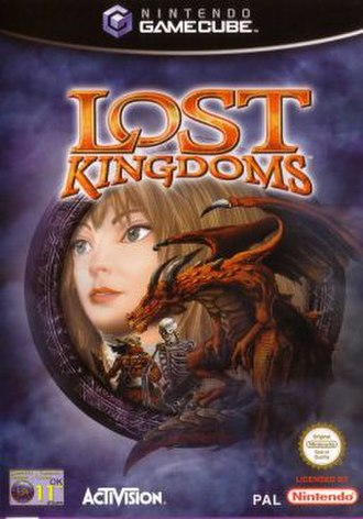 Lost Kingdoms - European cover art