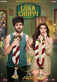 <i>Luka Chuppi</i> 2019 Indian Hindi-language romantic comedy film