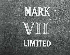 Mark VII Limited - The Mark VII Limited logo as it appears in 1954.