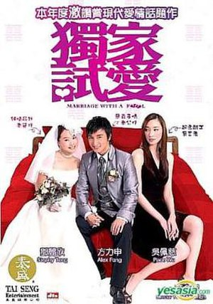 Marriage with a Fool - DVD cover