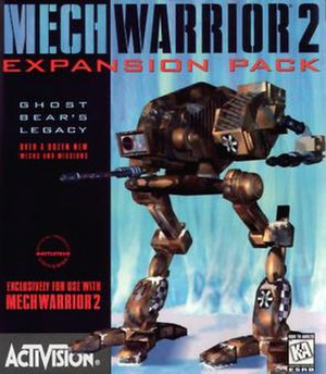 MechWarrior 2: 31st Century Combat - Cover art for Ghost Bear's Legacy