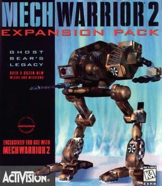 MechWarrior 2: 31st Century Combat - Cover art for Ghost Bear's Legacy