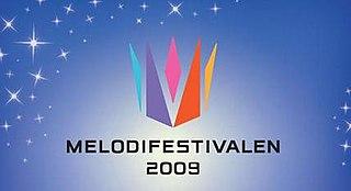 Melodifestivalen 2009 season of television series