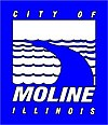 Official logo of City of Moline