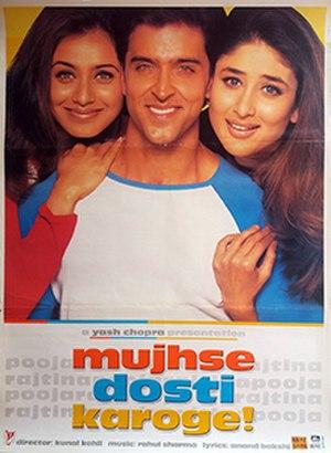 Mujhse Dosti Karoge! - Image: Mujhse Dosti Karoge Film Poster