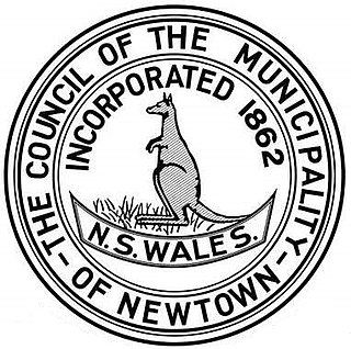 Municipality of Newtown Local government area in New South Wales, Australia