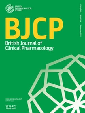 British Journal of Clinical Pharmacology - Image: New Cover BJCP 2016