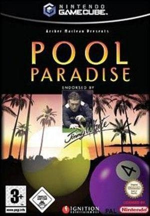 Pool Paradise - PAL region cover art for GameCube