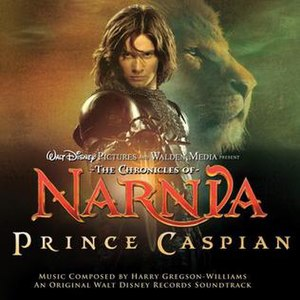 The Chronicles of Narnia: Prince Caspian (soundtrack) - Image: Princecaspiansoundtr ack
