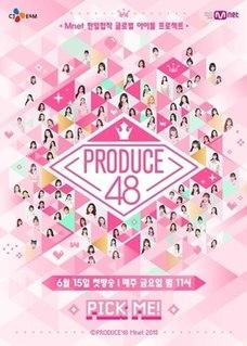 <i>Produce 48</i> South Korean reality competition series