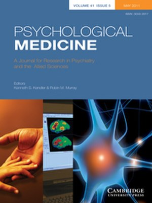 Psychological Medicine - Image: Psychological medicine cover