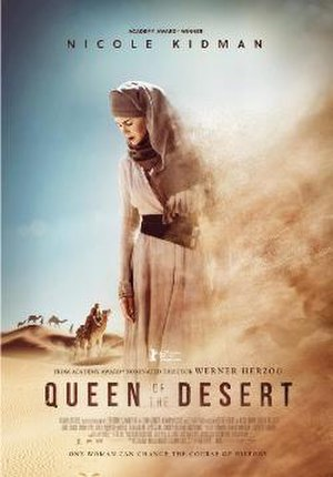 Queen of the Desert (film) - Theatrical release poster
