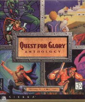 Quest for Glory - Quest for Glory Anthology cover art