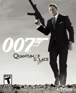 007: Quantum of Solace - Image: Quantum of Solace Cover Art