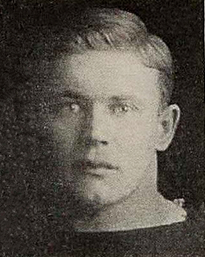 Ray Keeler - Keeler from Wisconsin's 1914 yearbook