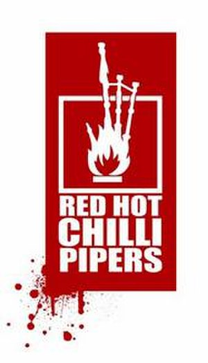 Red Hot Chilli Pipers - Red Hot Chilli Pipers logo