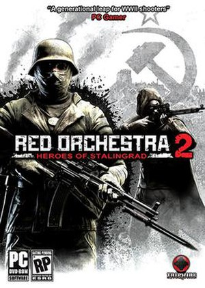 Red Orchestra 2: Heroes of Stalingrad - Image: Red Orchestra Heroes of Stalingrad cover