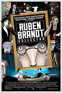 <i>Ruben Brandt, Collector</i> 2018 Hungarian animated film directed by Milorad Krstić