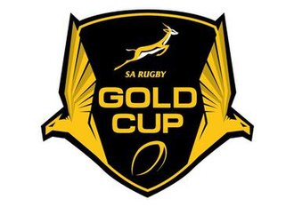 Gold Cup (rugby union) - Image: SARU Gold Cup logo