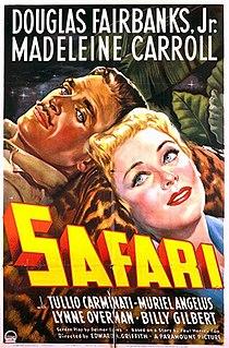 <i>Safari</i> (1940 film) 1940 film by Edward H. Griffith