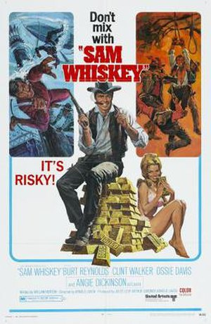 Sam Whiskey - Theatrical release poster