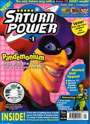 Sega Power - Image: Saturnpower 1