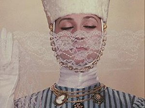 Sergei Parajanov - Parajanov's muse, Georgian actress Sofiko Chiaureli in The Color of Pomegranates