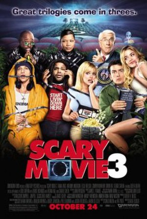 Scary Movie 3 - Theatrical release poster