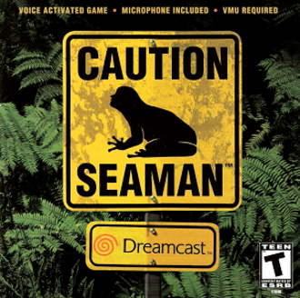Seaman (video game) - Image: Seaman Coverart