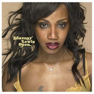 Open (Shaznay Lewis album) - Image: Shaznay Lewis Open Front