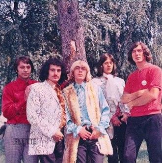 Rock music in Serbia - Siluete in 1967