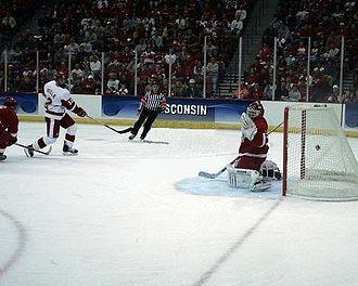 Jack Skille - Jack Skille scores the game-winning goal against Cornell University.