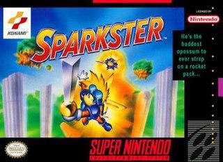 <i>Sparkster</i> 1994 SNES game