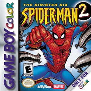 Spider-Man 2: The Sinister Six - Box art of Spider-Man 2: The Sinister Six