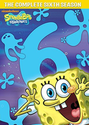 SpongeBob SquarePants (season 6) - DVD cover