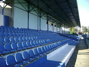 Bačka Palanka - Stadium Slavko Maletin Vava, where FK Bačka plays