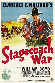 <i>Stagecoach War</i> 1940 film by Lesley Selander