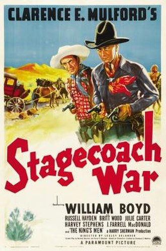 Stagecoach War - Theatrical release poster