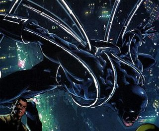 Steel Spider Marvel Comics superhero character
