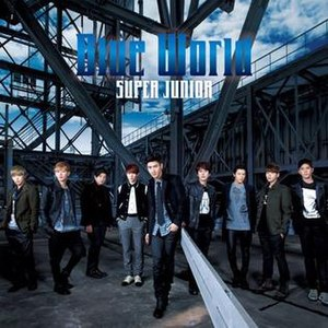 Blue World (Super Junior song) - Image: Super Junior 5th Japanese Single Blue World (CD ONLY Ver.)