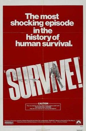 Survive! (film) - Image: Survive Poster