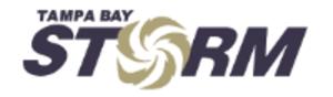Tampa Bay Storm - T.B. Storm Logo (1997–2011)