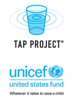 UNICEF Tap Project - UNICEF Tap Project was created in 2007